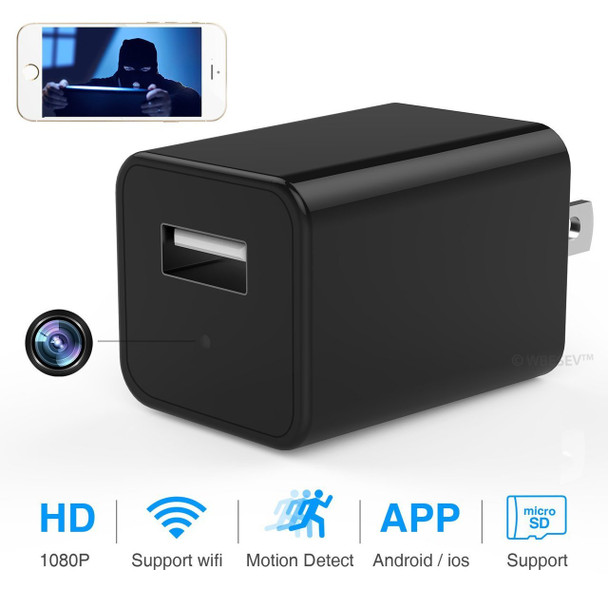 1080P WIFI HD Charger Adapter Video Recorde