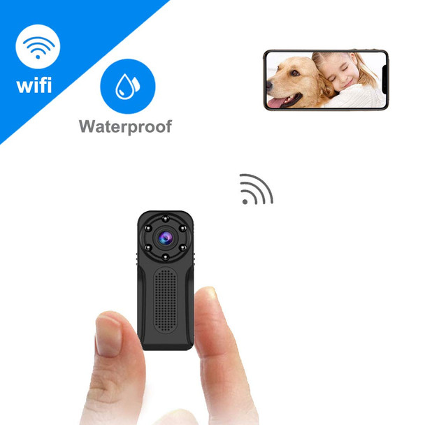 Waterproof WiFi  Camera,  Full HD 1080P Portable  Wireless Surveillance Camera with Night Vision and Motion Detection,Perfect  Security Camera for Indoor and Outdoor