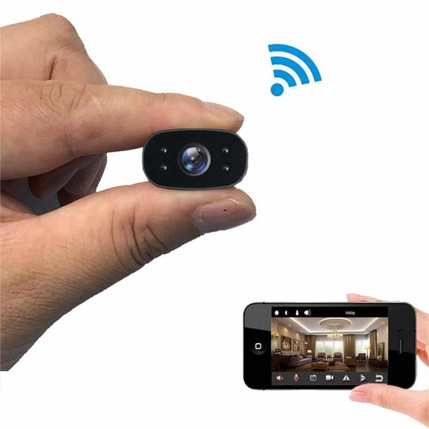 1080P HD wireless WiFi Remote Surveillance Cameras  IR Night Vision video recorder Motion-Detection