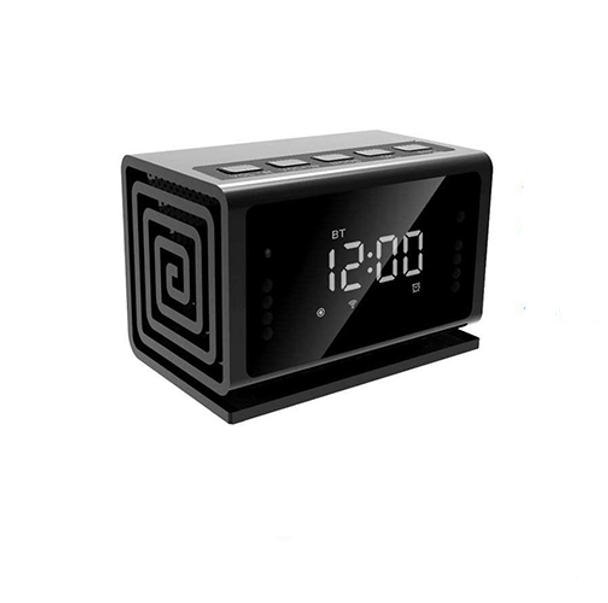 WiFi Alarm Clock, Wireless Speaker with Night Vision