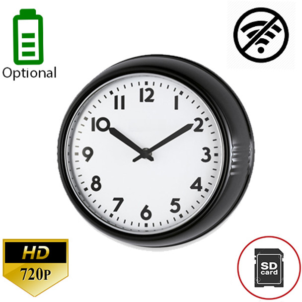 `- Built-In DVR Office Clock Hidden Nanny Security Camera-