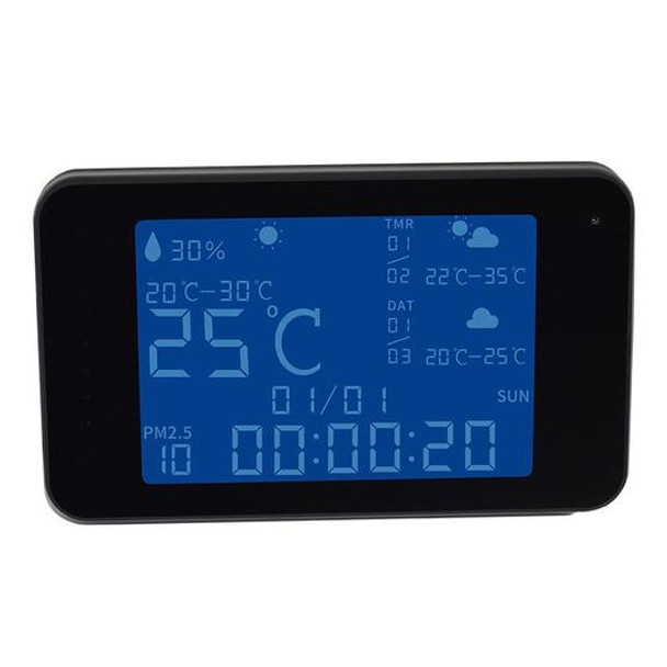 1080P HD WiFi Weather Station Home Nanny Spy Camera With Night Vision