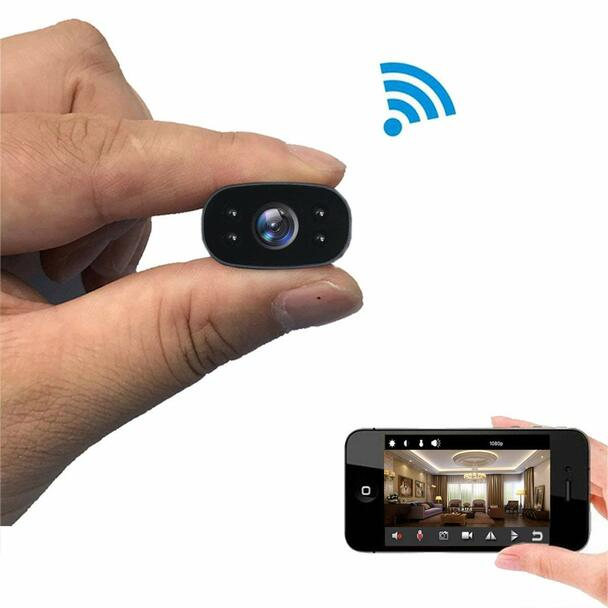 1080P HD Wireless WiFi Remote Monitor Camera IP with Night Vision  - Video Recorder Motion-Detection
