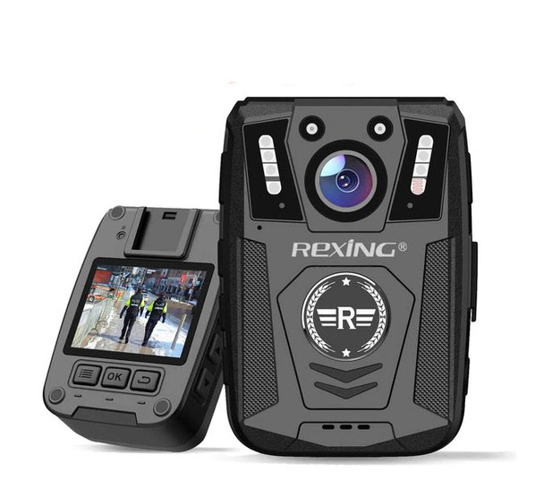 """Body Worn Camera, 2"""" Display 1080p Full HD, 64G Memory,Record Video, Audio & Pictures,Infrared Night Vision,Police Panic Mode, 3000 mAh Battery,10HR Battery Life,Waterproof,Shockproof"""