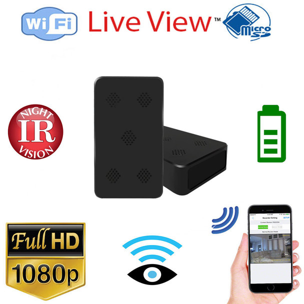 HD 1080P PIR Black Box/ Power Bank WiFi Security Camera With Night Vision and 10 Hr Battery