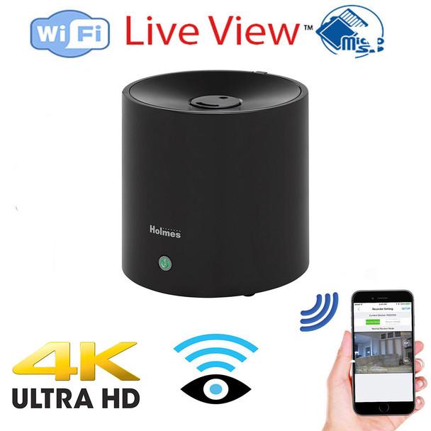 Holmes UHD 4k WiFi Air Purifier Hidden Spy Camera Includes a 128 Gig sd card W/ Live View WiFi + Dvr