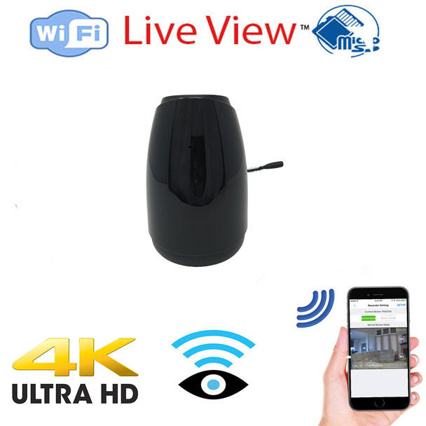 UHD 4k WiFI P2P Essential Mist Air Freshener Hidden Spy Camera 128 Gig sd card included W/ Live View WiFi + Dvr