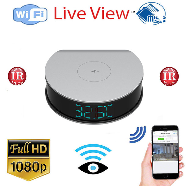 1080P Fast Phone Charger Spy Hidden Camera With Remote Monitoring And Night Vision