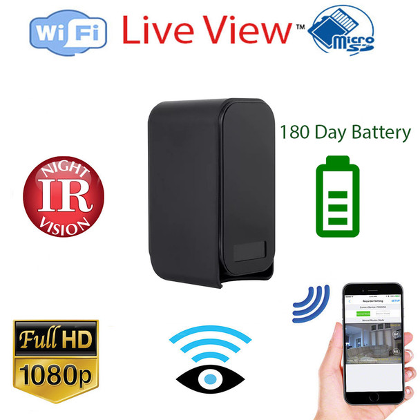 WiFi Surveillance Camera With180 Day Long Standby Time and Night Vision