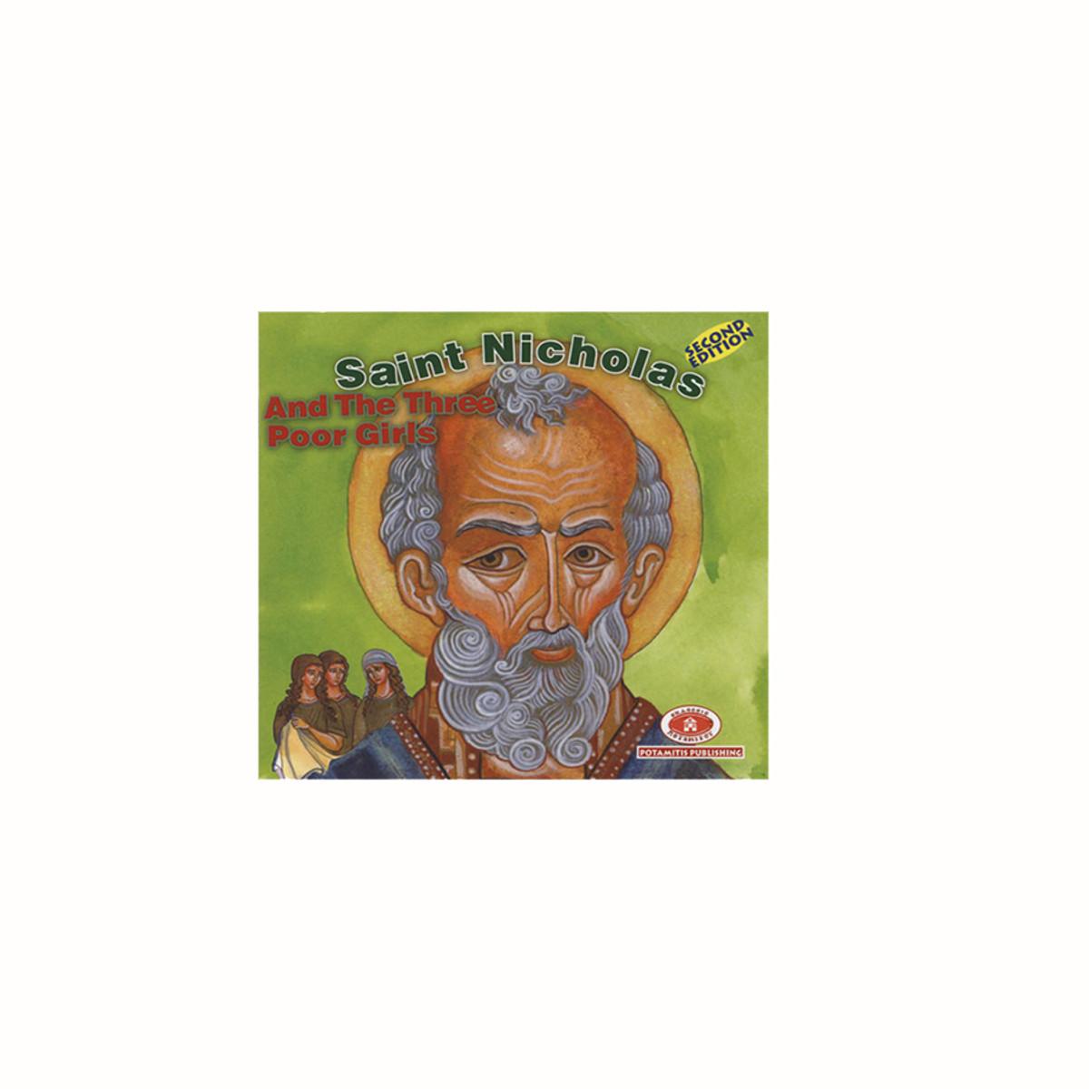 Christmas Iconography.Paterikon Christmas Stories Saint Nicholas