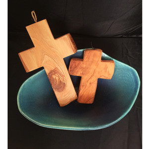 Olive Wood Wall Crosses
