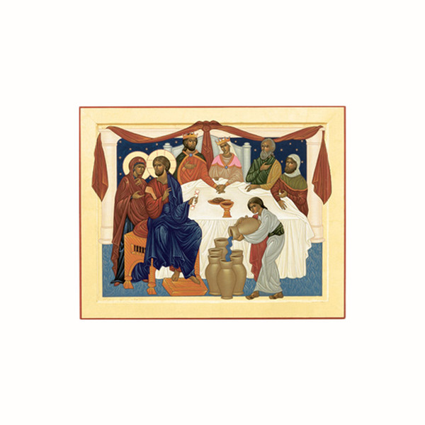 Wedding at Cana Icon Card