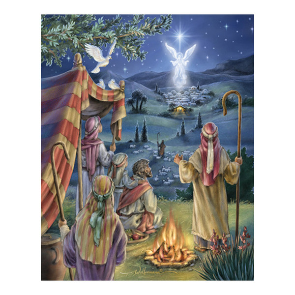 "Jigsaw Puzzle ""Following the Star"""