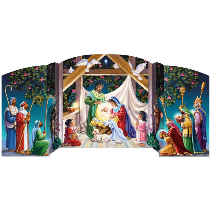 Advent Calendar (Free-Standing)