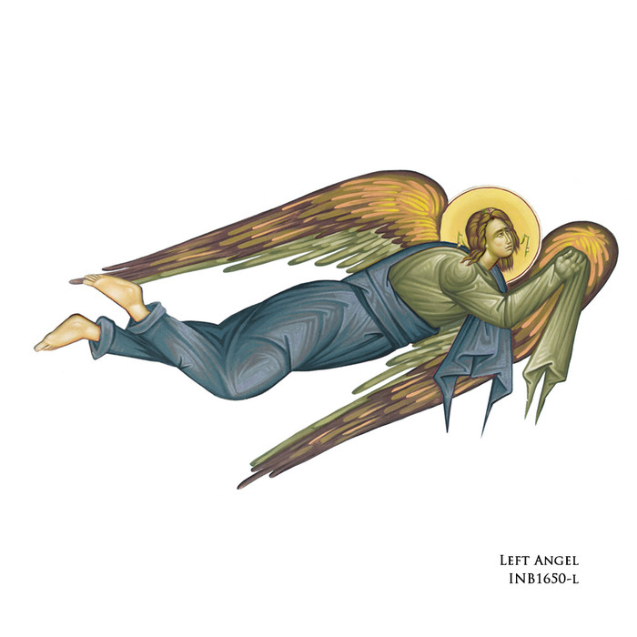 Left Angel -add this option at checkout--