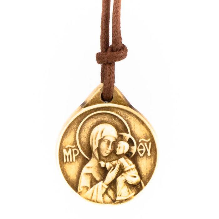 Mother of God Dolomite Pendant