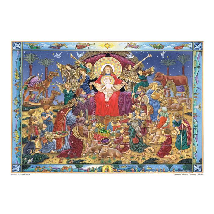 "Advent Calendar ""King of Kings"""