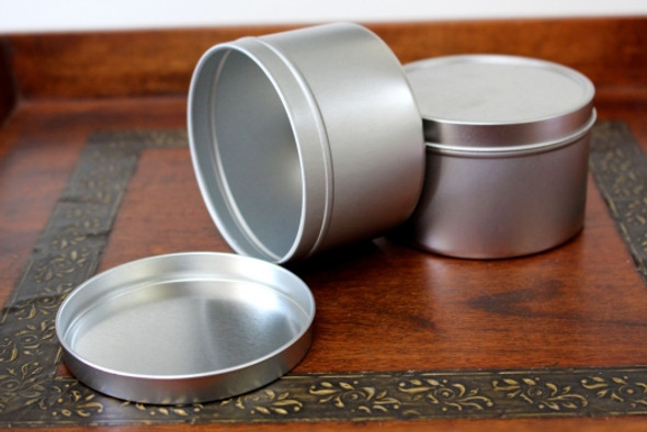 16 oz Tin Containers w/ Lids