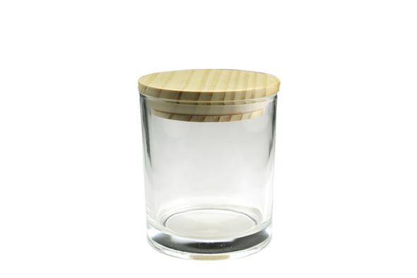 6 oz Clear Cali Jar w/Lid