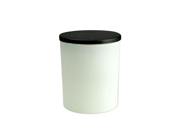 6 oz Matte White Cali Jar w/Lid