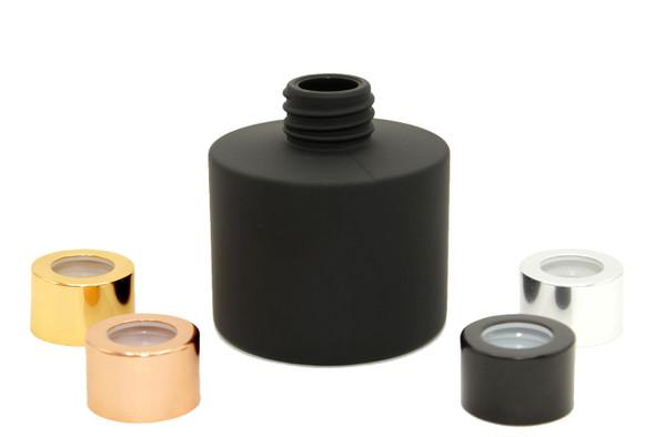 4 oz Matte Black Diffuser Glass