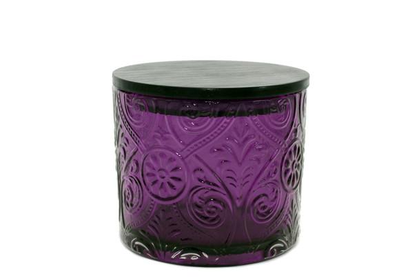 14 oz Purple Marquis Glass