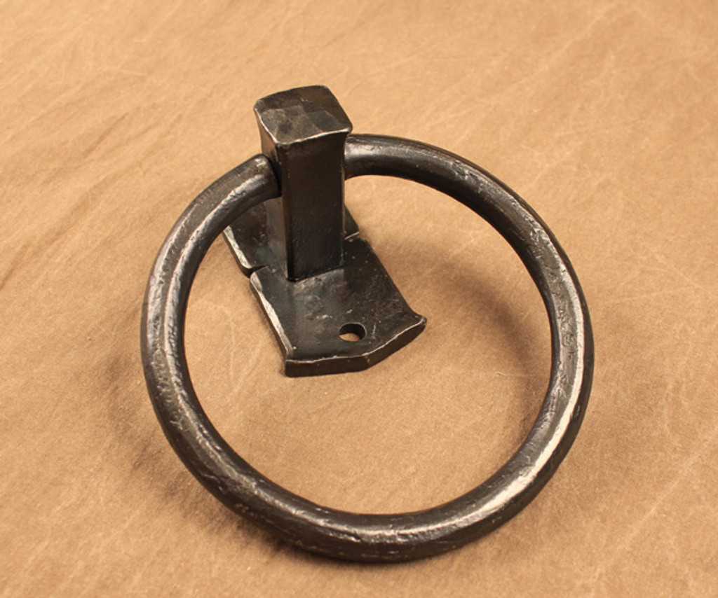 Heavy Forged Towel Ring
