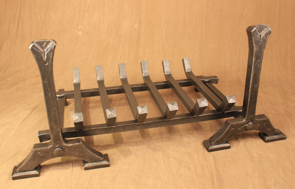 shown with optional grate