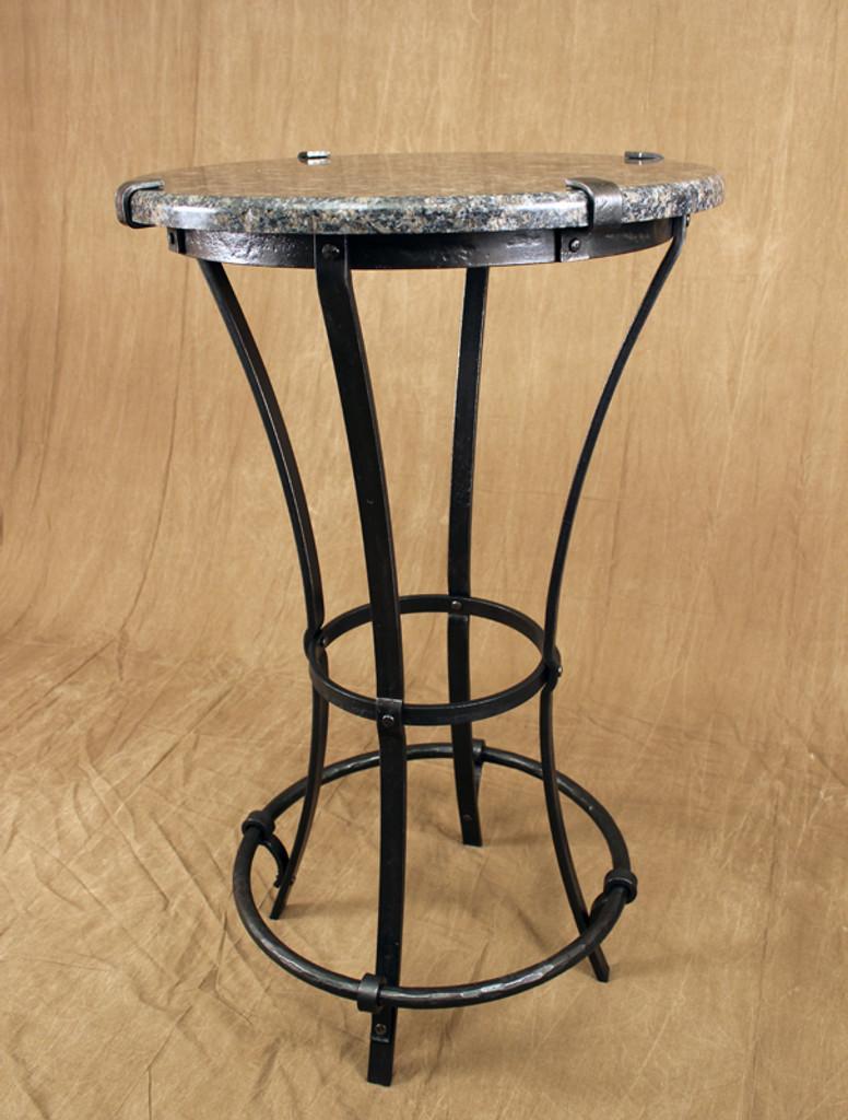 iron bistro table