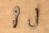 Wrought iron oval hooks