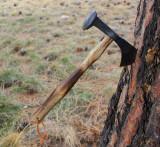 Hand forged Railroad Spike Tomahawk 3