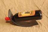 wrought iron wine rocker - with wine bottle