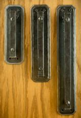 Double Backplate Door Handle, Small, Large & XL
