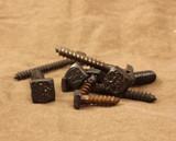 Decorative square head lag bolts