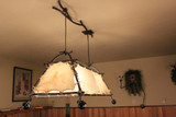 organic vine billiards lighting