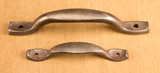 Large and Small Villa door pulls compared