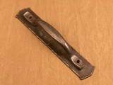 Barndoor handle, large Villa handle with backplate