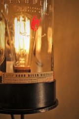 Vintage Wall Light-Whiskey Bottle