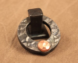 Ponderosa Forge Copper Rivet Ring Pull