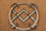 Wrought iron 2004 Ponderosa Forge Trivet