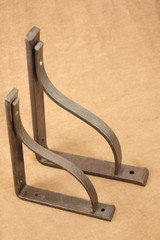 Wrought iron counter support bracket (2)