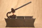wrought iron nutcracker box