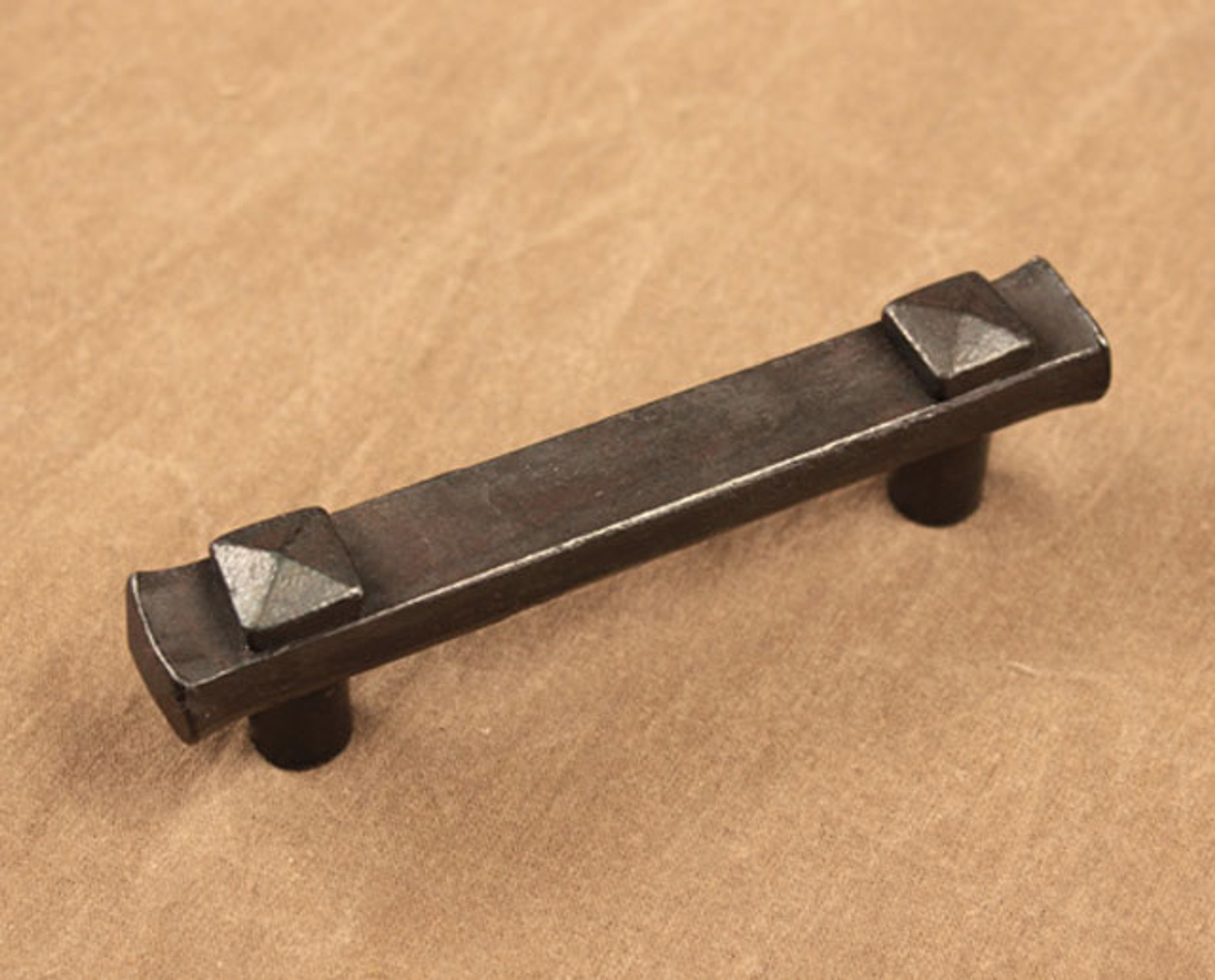 Forged Rectangle Cabinet Pull Ponderosa Forge
