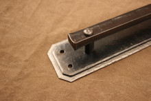 Double Backplate Door Handle - Detail