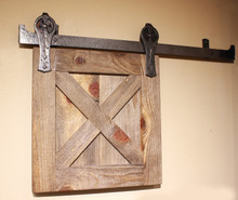 hand forged barn door tracks