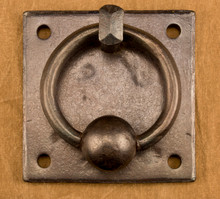 Classic Ball-and-Ring Door Knocker