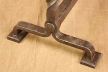 wrought iron flaming tamarack - base