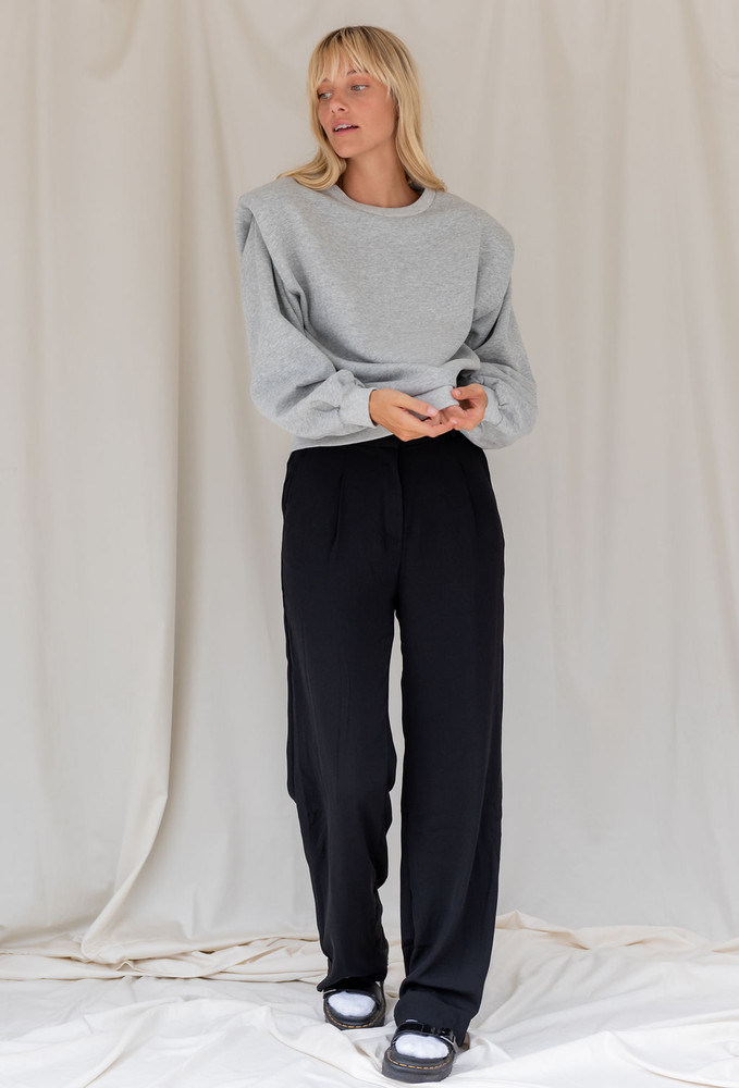 CALIstyle Giselle Trouser Pant In Black