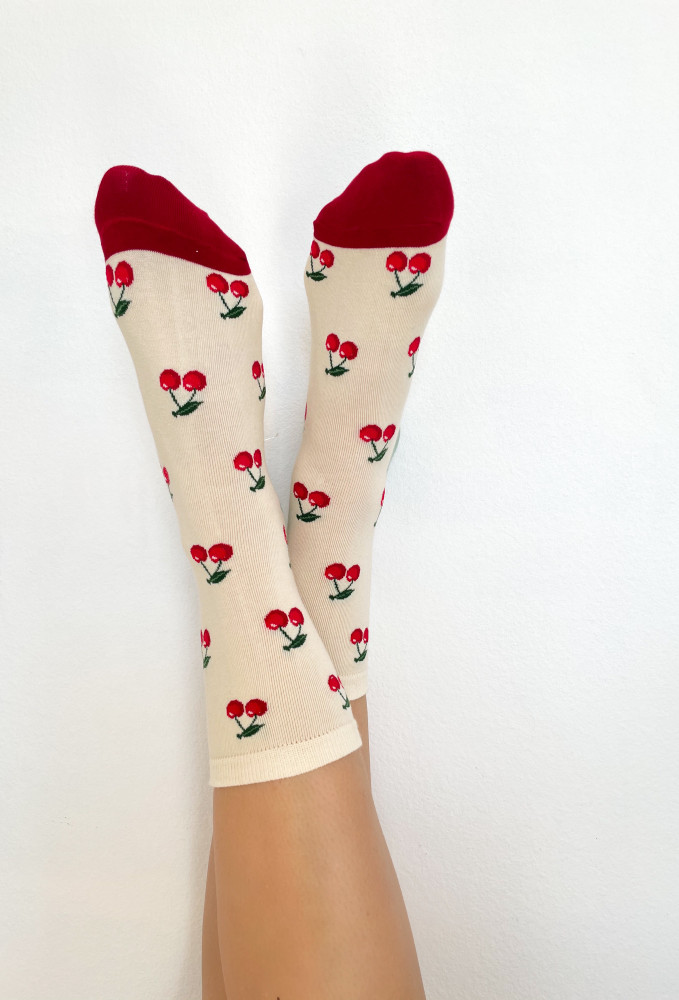 CALIstyle With A Cherry On Top Socks