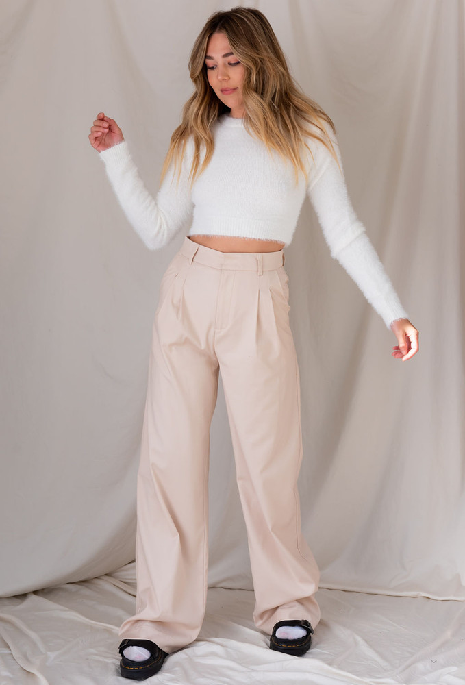 CALIstyle Giselle Trouser/Pant  In Tan